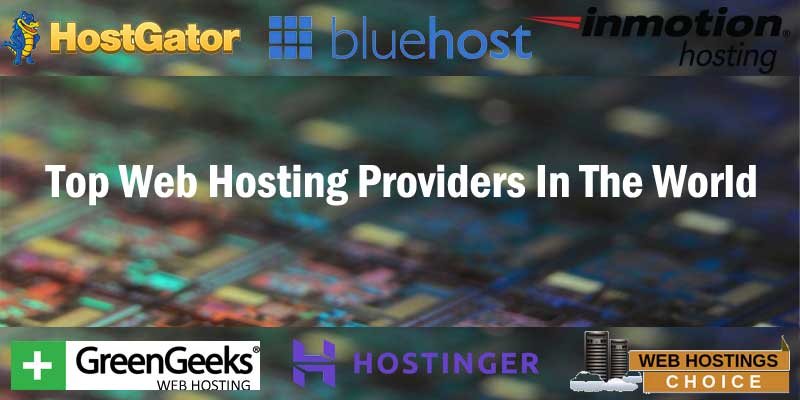 Top Web Hosting Providers In The World