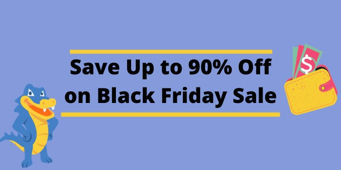 Save Up to 90% Off on Black Friday Sale