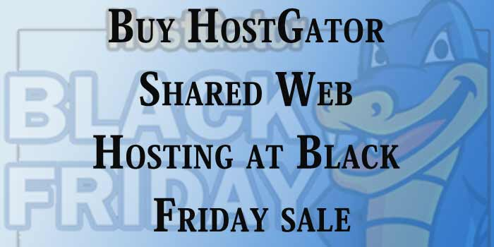 HostGator Shared web hosting