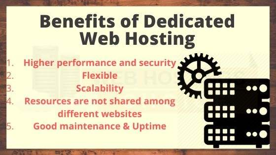 Benefits Of Dedicated Web Hosting