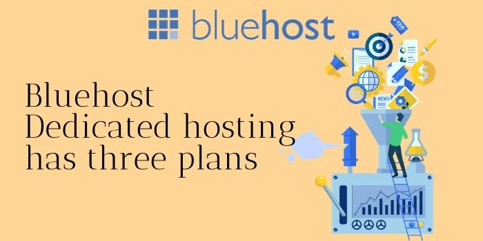 BlueHost Dedicated Hosting Plans