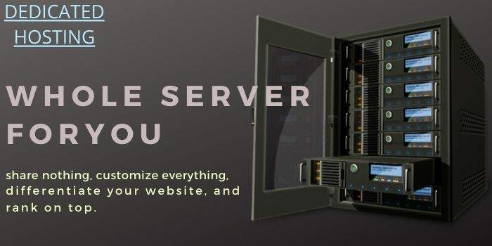 Dedicated Hosting Features
