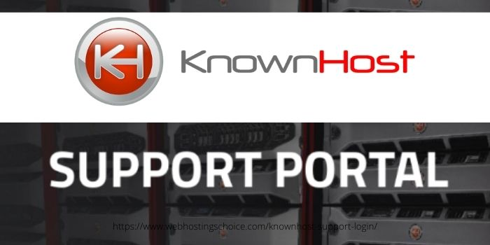 HOW TO LOGIN TO KNOWNHOST SUPPORT PORTAL